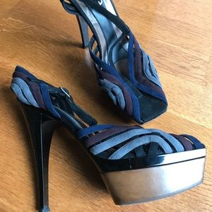 Marni Platform T-Strap Sandals - size 40